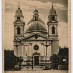 The Cernauti Cathedral in the interwar period, a postcard from the MNIR library