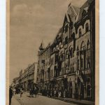 The German House in the Interwar Period, black and white postcard from the MNIR
