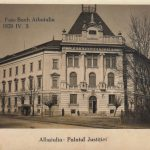 Palace of Justice (Bach photo), postcard from 1929