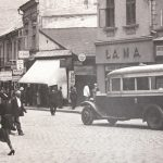 Bucharest Street in Cernauti during the interwar period