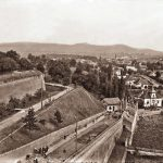 Alba Iulia - view of Gate 1 of the fortress, beginning of the 20th century