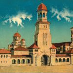 Alba Iulia - The Coronation Cathedral, postcard from the interwar period
