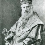 Vladimir de Repta, Metropolitan (1841-1926), graduate of the Theological Institute of Cernăuţi, monk of the Sucevita monastery in 1885, Bishop of Rădăuţi, metropolitan of Bucovina during 1902-1924, vice-president of the Society for Romanian Culture and Literature in Bucovina (1889- 1896) deputy to the Parliament of Vienna, a national rights fighter, presided over the Bukovina General Assembly in Bukovina on November 28, 1918 when the Union of Bukovina was decided. He was part of the delegation that handed the Act of the Union of Bucovina to King Ferdinand I.