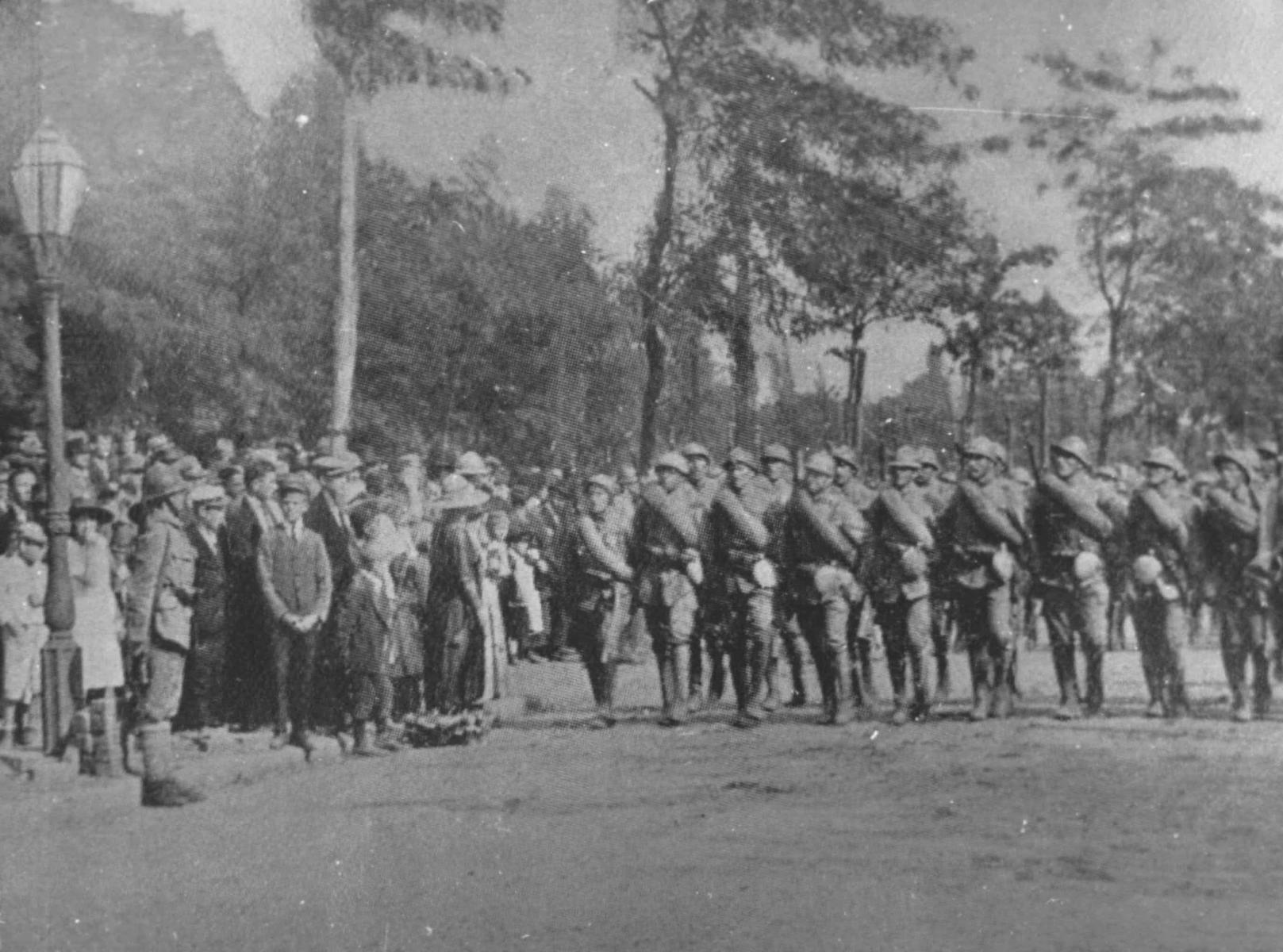 Intrarea trupelor române în Budapesta