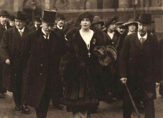 Regina Maria la Paris, martie 1919